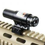 Spike Lunettes de visée Compact vue Red Dot Laser réglable w / montage pour 20mm Picatinny & 11mm Rails Airsoft Chasse de la marque Spike TOP 4 image 1 produit