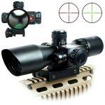 Spike Lunettes de visée Optique de Rifle 2.5-10x40ER Chasse Rouge / Vert Riflescope laser avec Red Dot Champ Combo Airsoft Gun Arme Sight de la marque IRON JIA' TOP 13 image 0 produit