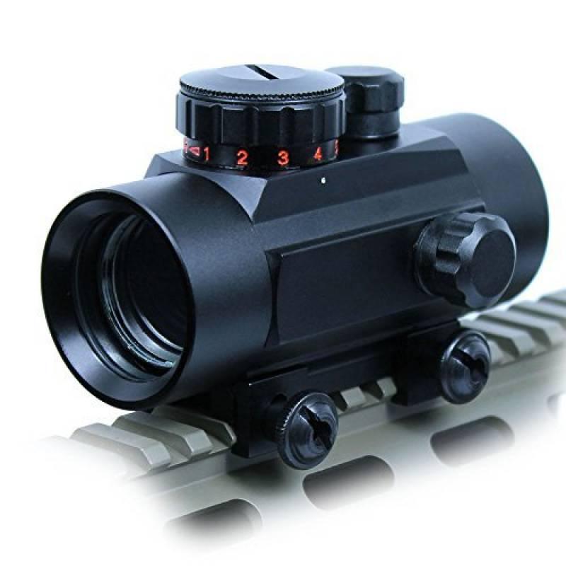 Spike Lunettes de visée Tactical 1X30 Vert / Red Dot Sight 5 MOA Réticule Portée w / 20mm Rail Mount Airsoft Chasse de la marque Spike TOP 13 image 0 produit