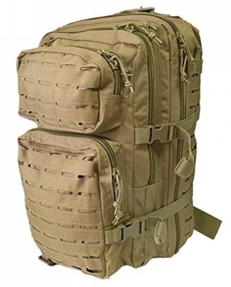 US assault pack petite coyote laser cut de la marque Miltec TOP 12 image 0 produit