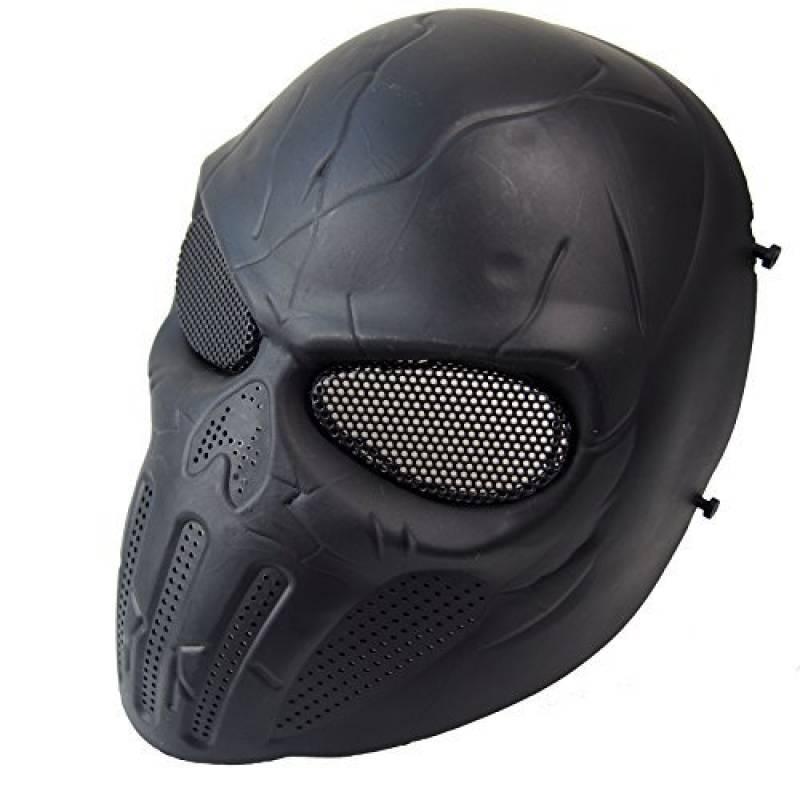 Wwman Masque de protection pour airsoft/paintball en forme de crâne de la marque Wwman TOP 4 image 0 produit