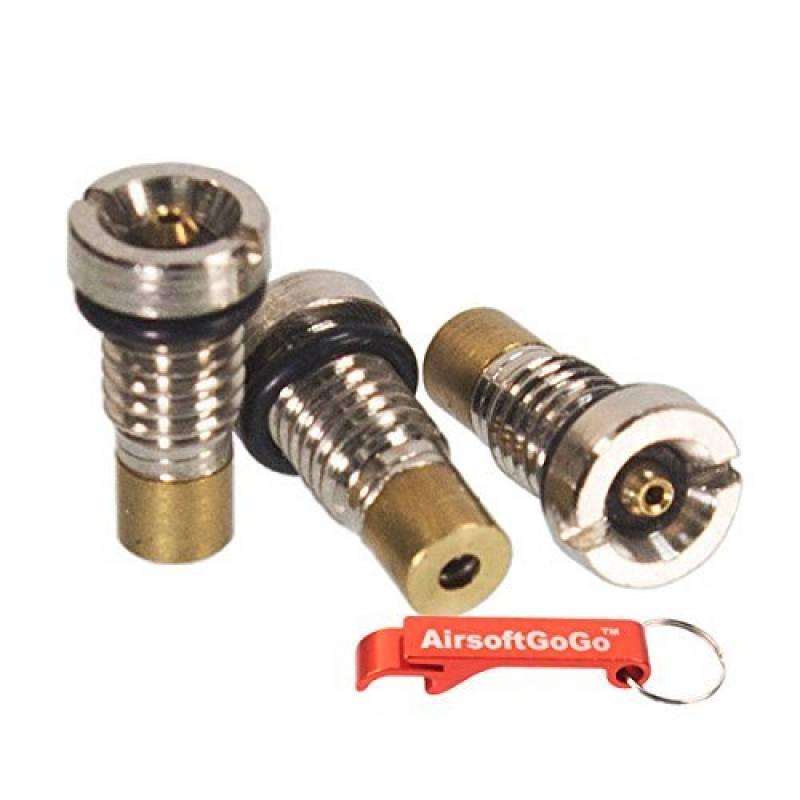 3X Inlet Valves pour WE G17 G18C G19 G35 M84 M9 M84 BULL XDM P266 GBB Chargeur [pour Airsoft uniquement] de la marque AirsoftGoGo TOP 3 image 0 produit