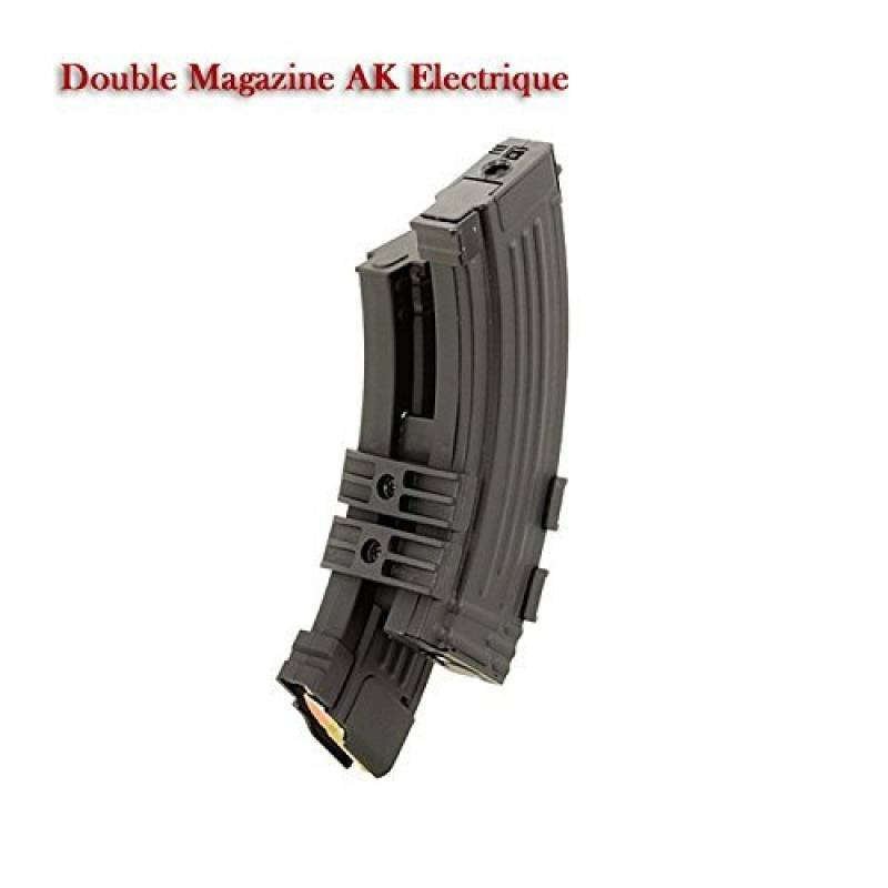 Airsoft AK Double Mag Electronic With battery holder 1100 bbs de la marque Inconnu TOP 8 image 0 produit