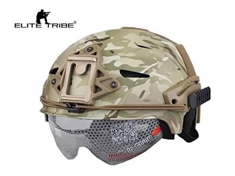 airsoft chasse casque tactique combat EXF BUMP style casque et lunettes de la marque équipement de paintball TOP 11 image 1 produit