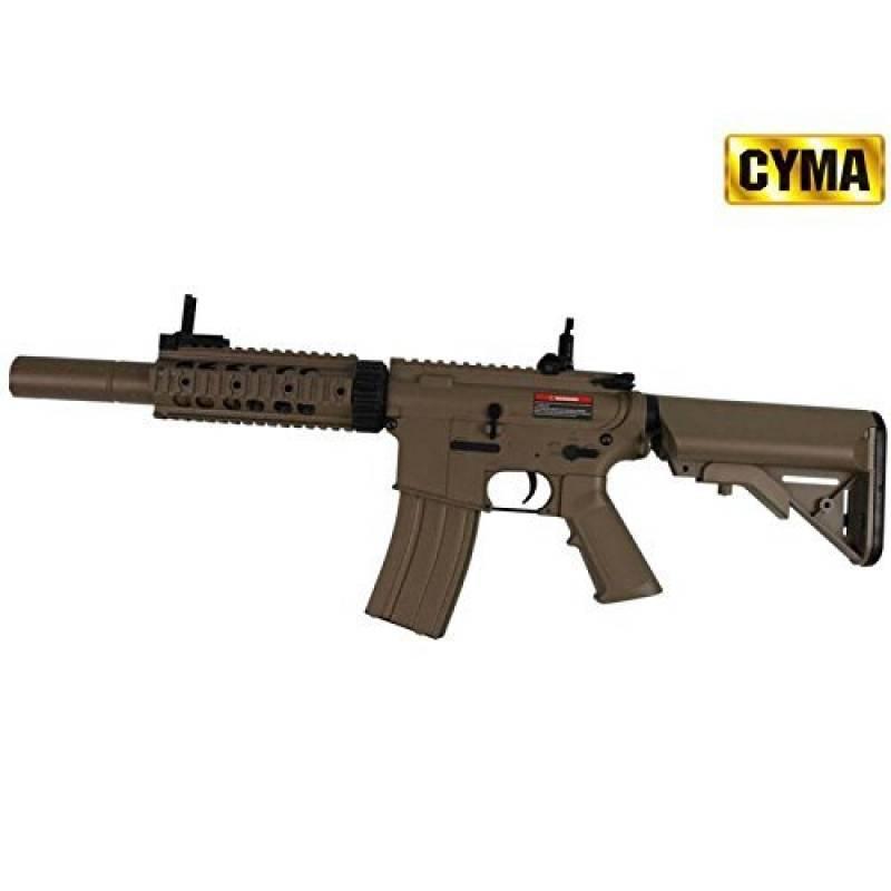 Airsoft Cyma M4 SD Tactique ABS Semi-automatique / Automatique Aeg Désert CM513T (Puissance 0.5 joule) de la marque CYMA TOP 9 image 0 produit