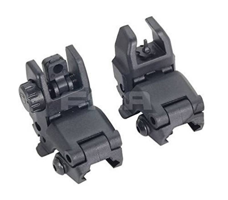AIRSOFT FMA MBUS GEN 1 BACK UP SIGHTS M4 IRON SIGHT BLACK MBUIS BUIS PTS UK de la marque FMA TOP 3 image 0 produit