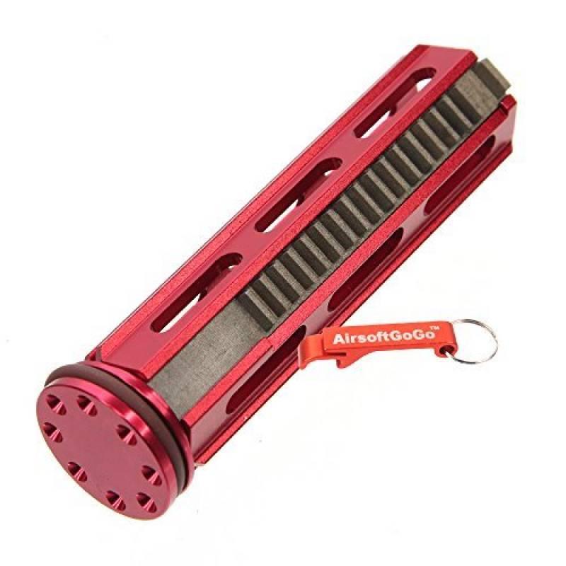Army Force Aluminium Piston 18 Dents Métal avec Tête de piston pour Airsoft AEG SVD,R85,L85,SR25 Gearbox (Rouge) - AirsoftGoGo Porte-clés Inclus de la marque Ar TOP 15 image 0 produit