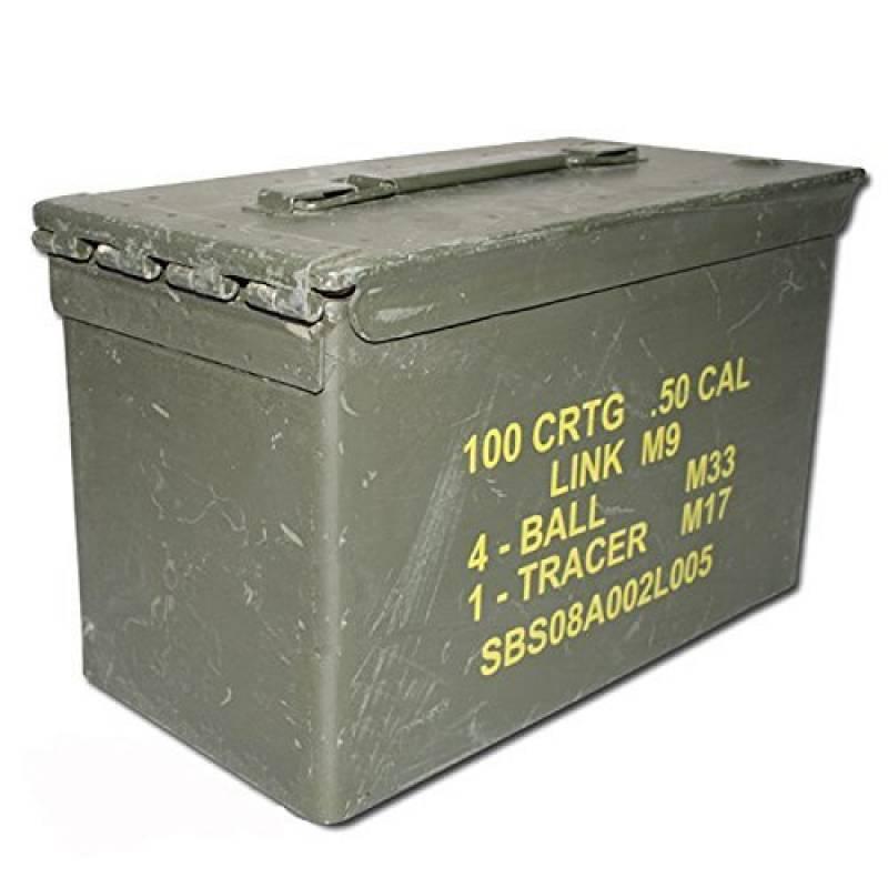 CAISSE BOITE A MUNITIONS US ARMY EN METAL VERT KAKI MILTEC 91592600 MATERIEL OCCASION MILITAIRE ARMEE AMERICAINE de la marque Miltec TOP 10 image 0 produit