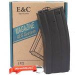 E&C Box of 5 pieces of 160rds M4/M16 Chargeur pour Airsoft AEG - AirsoftGoGo Porte-clés Inclus de la marque East Crane TOP 5 image 0 produit