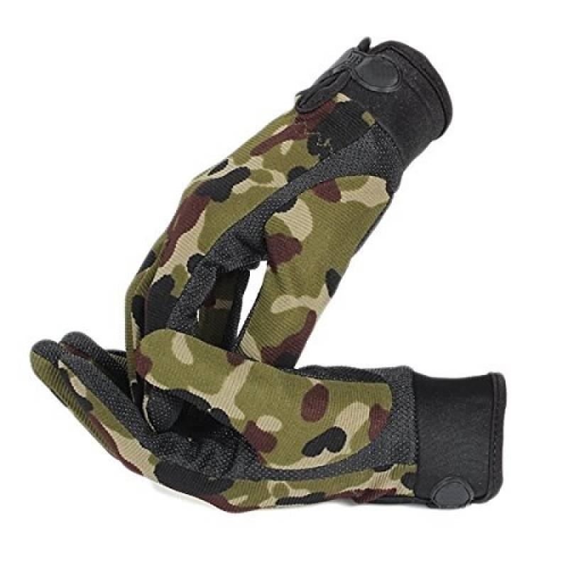 EJY Unisex Camping Sport Nylon Gants d'entraînement Combat Doigts Complet Camouflage de la marque EJY TOP 12 image 0 produit