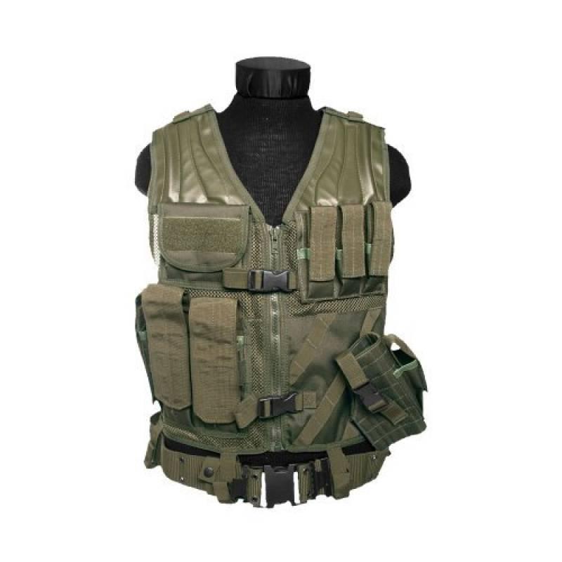 Gilet de combat USMC - Vert armée - Miltec de la marque Miltec TOP 2 image 0 produit