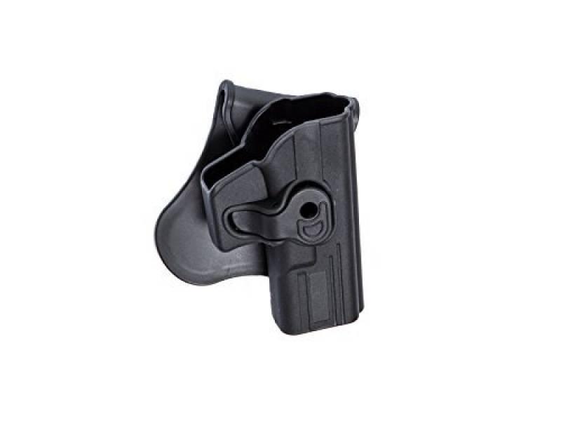 Holster Rigide Polymère Noir Pour Réplique Airsoft Type Glock 17/18/22/31 de la marque ASG TOP 13 image 0 produit