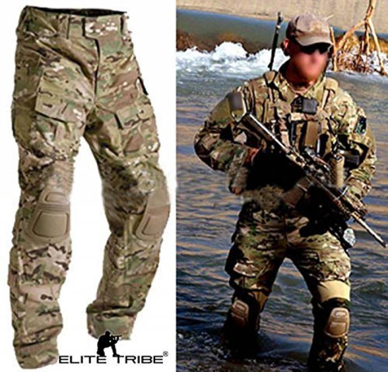 Homme Tenues de Combat Pantalon Militaire Paintball Gen3 Tactique Pantalon et Genouillères Multicam MC de la marque équipement de paintball TOP 3 image 0 produit