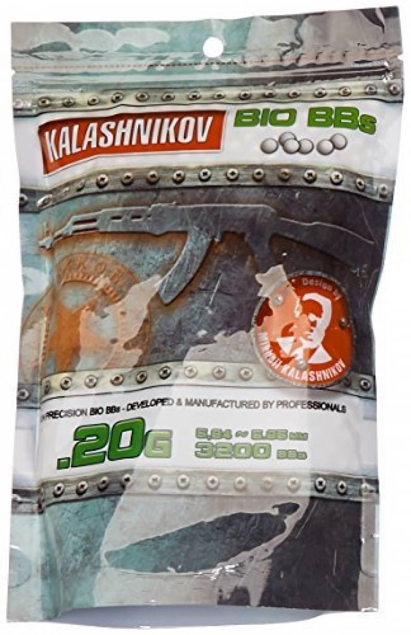 Kalashnikov Billes biodégradable Sac de 3200 BB's 0,20 g de la marque KALASHNIKOV TOP 12 image 0 produit