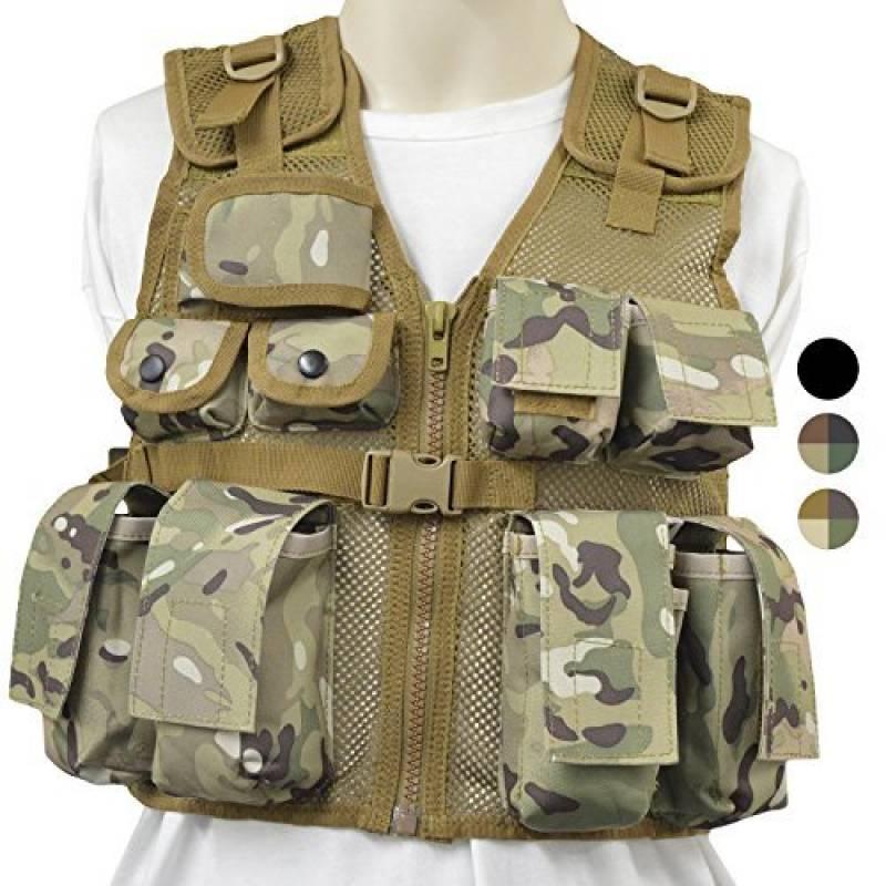 Nitehawk - Gilet tactique/de combat - style militaire/police - enfant de la marque Nitehawk TOP 8 image 0 produit
