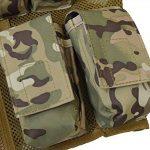 Nitehawk - Gilet tactique/de combat - style militaire/police - enfant de la marque Nitehawk TOP 8 image 3 produit