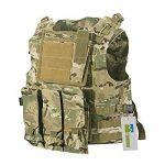 TOMOUNT Gilet Veste en Nylon Camouflage MOLLE pour Tactique Combat Paintball Militaire de la marque TOMOUNT TOP 7 image 0 produit