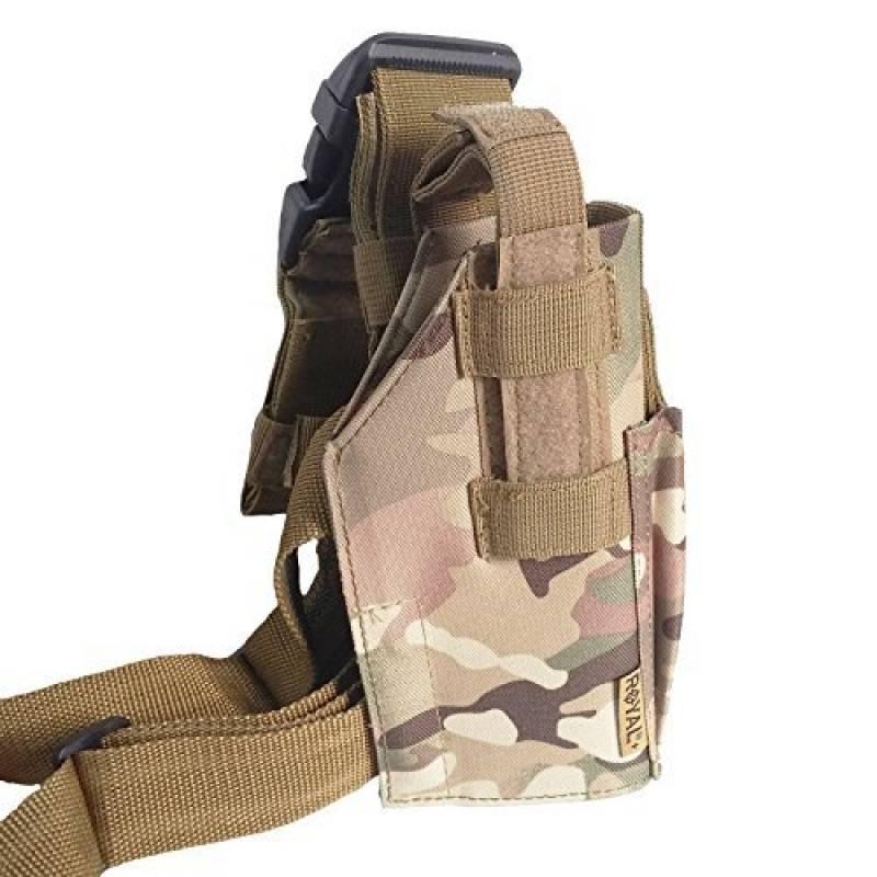 Vega Holster Étui en Cordura Cosciale Multicam Militaire Pistolet Desert Eagle Universel de la marque Area Shopping TOP 2 image 0 produit