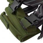Vega Holster Étui en Cordura Cosciale Vert Militaire Desert Eagle Universel pour Pistolet de la marque Area Shopping TOP 3 image 1 produit