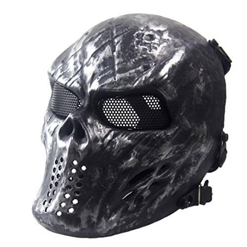 wwman visage complet crâne Masque tactique pour airsoft/paintball CS équipement de protection Gear de la marque Wwman TOP 6 image 0 produit