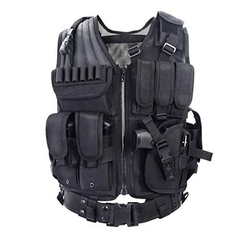 YAKEDA®Fournitures police et les militaires, engins tactiques, équipement de plein air veste tactique domaine des ventilateurs Armée pour les hommes Jungle Adve TOP 13 image 0 produit